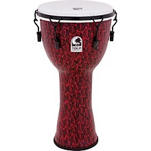 Freestyle II Mechanically-Tuned Djembe 14 in. Red Mask