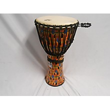 "Toca Freestyle Kente Cloth Rope Tuned 12"" Djembe"