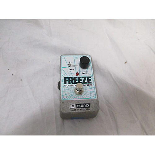 Voice Effects Pedals : used electro harmonix freeze sound retainer compression effect pedal guitar center ~ Russianpoet.info Haus und Dekorationen