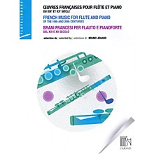Durand French Music for Flute and Piano of the 19th and 20th Centuries Editions Durand Series Softcover