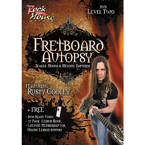 Hal Leonard Fretboard Autopsy - Scales, Modes & Melodic Patterns, Level 2 Featuring Rusty Cooley (DVD)