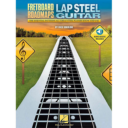Hal Leonard Fretboard Roadmaps - Lap Steel Guitar (Book/Audio Online)