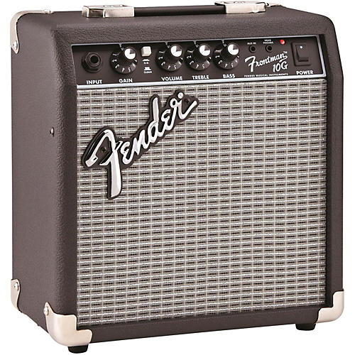 fender frontman 10g 10w guitar combo amp black guitar center. Black Bedroom Furniture Sets. Home Design Ideas