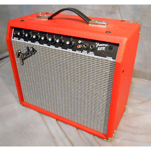 Fender Frontman 25R 1X10 25W Red Guitar Combo Amp