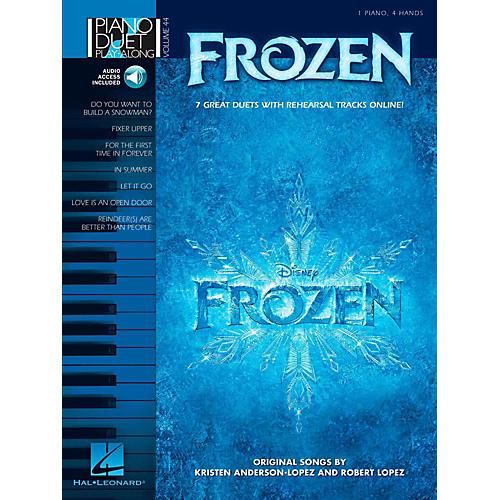 Hal Leonard Frozen - Piano Duet Play-Along Volume 44 Book w/ Online Audio