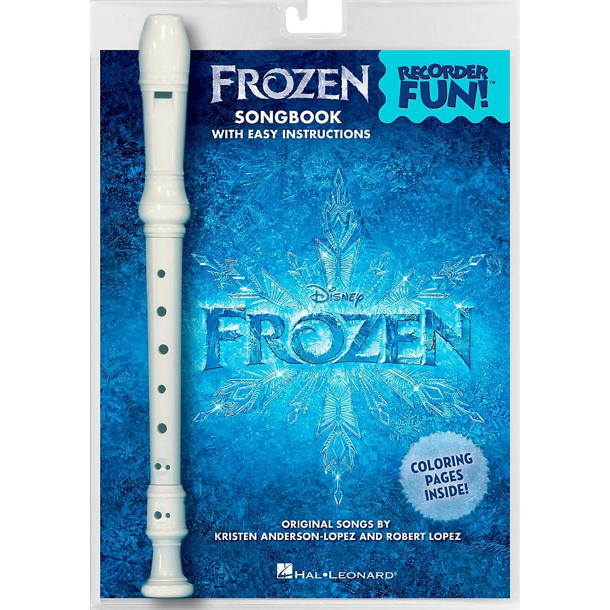 Hal Leonard Frozen - Recorder Fun! Pack with Songbook and Instrument