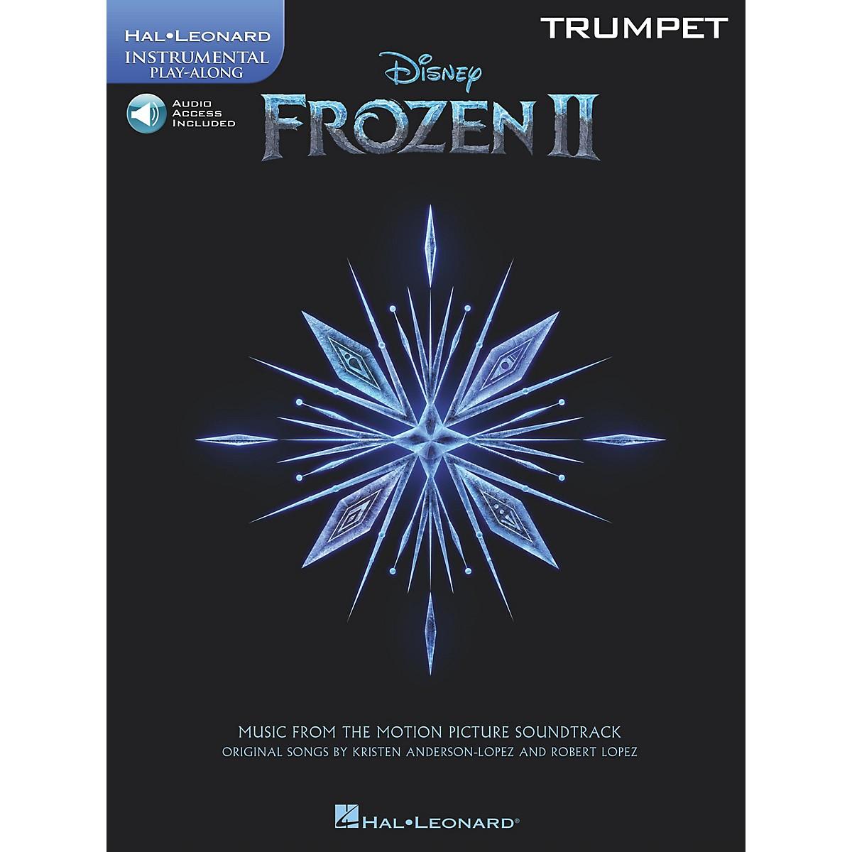 Hal Leonard Frozen II Trumpet Play-Along Instrumental Songbook Book/Audio Online