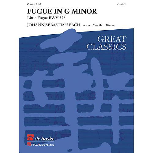 Hal Leonard Fugue In G Minor Score Only Concert Band
