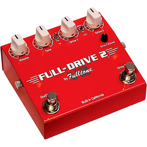 Fulltone Full-Drive 2 V2 Overdrive Effects Pedal