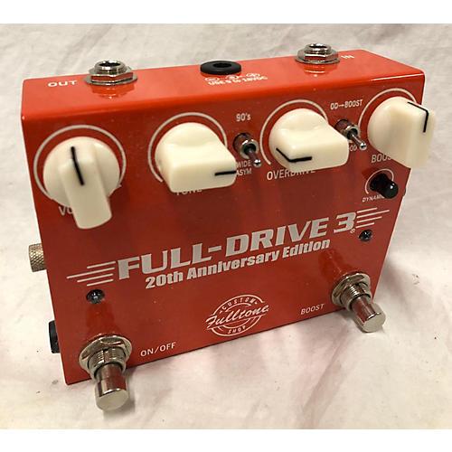 Fulltone Full-Drive 3 20th Anniversary Edition Effect Pedal