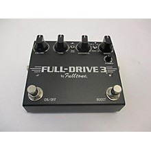Fulltone Fulldrive 3 Effect Pedal