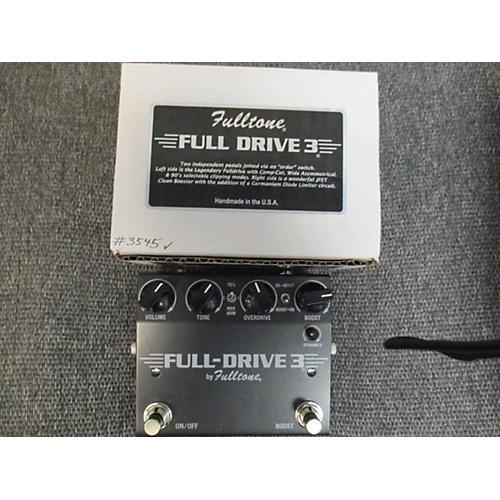 Fulltone Fulldrive 3bk Effect Pedal
