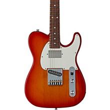Fullerton Deluxe ASAT Classic Bluesboy Electric Guitar Caribbean Rosewood Fingerboard Cherry Burst