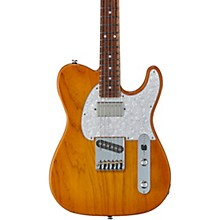 Fullerton Deluxe ASAT Classic Bluesboy Electric Guitar Caribbean Rosewood Fingerboard Honey Burst