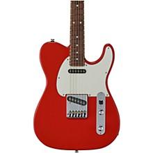 Fullerton Deluxe ASAT Classic Caribbean Rosewood Fingerboard Electric Guitar Fullerton Red