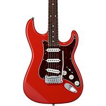Fullerton Deluxe Legacy Electric Guitar Caribbean Rosewood Fingerboard Fullerton Red
