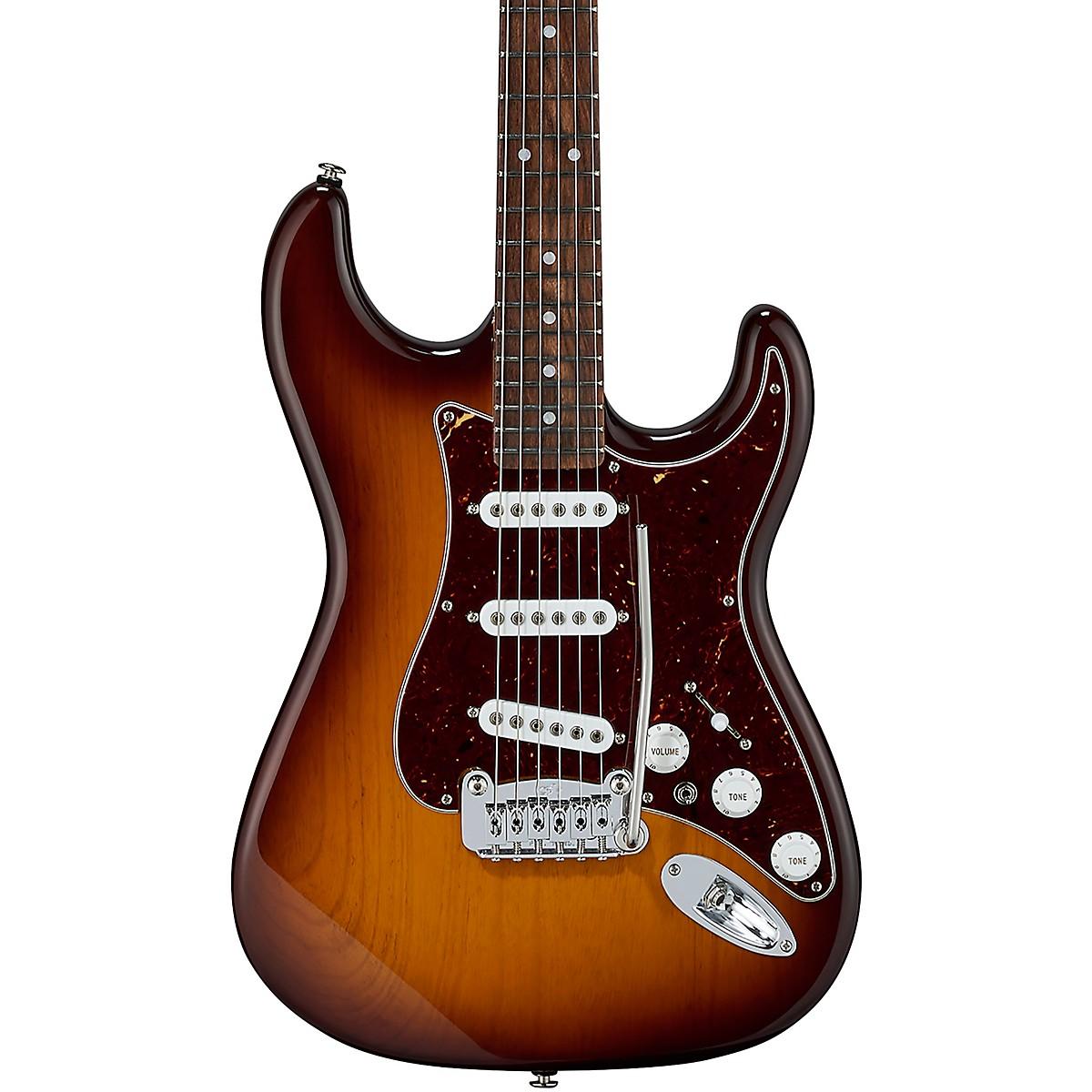 G&L Fullerton Deluxe S-500 Caribbean Rosewood Fingerboard Electric Guitar