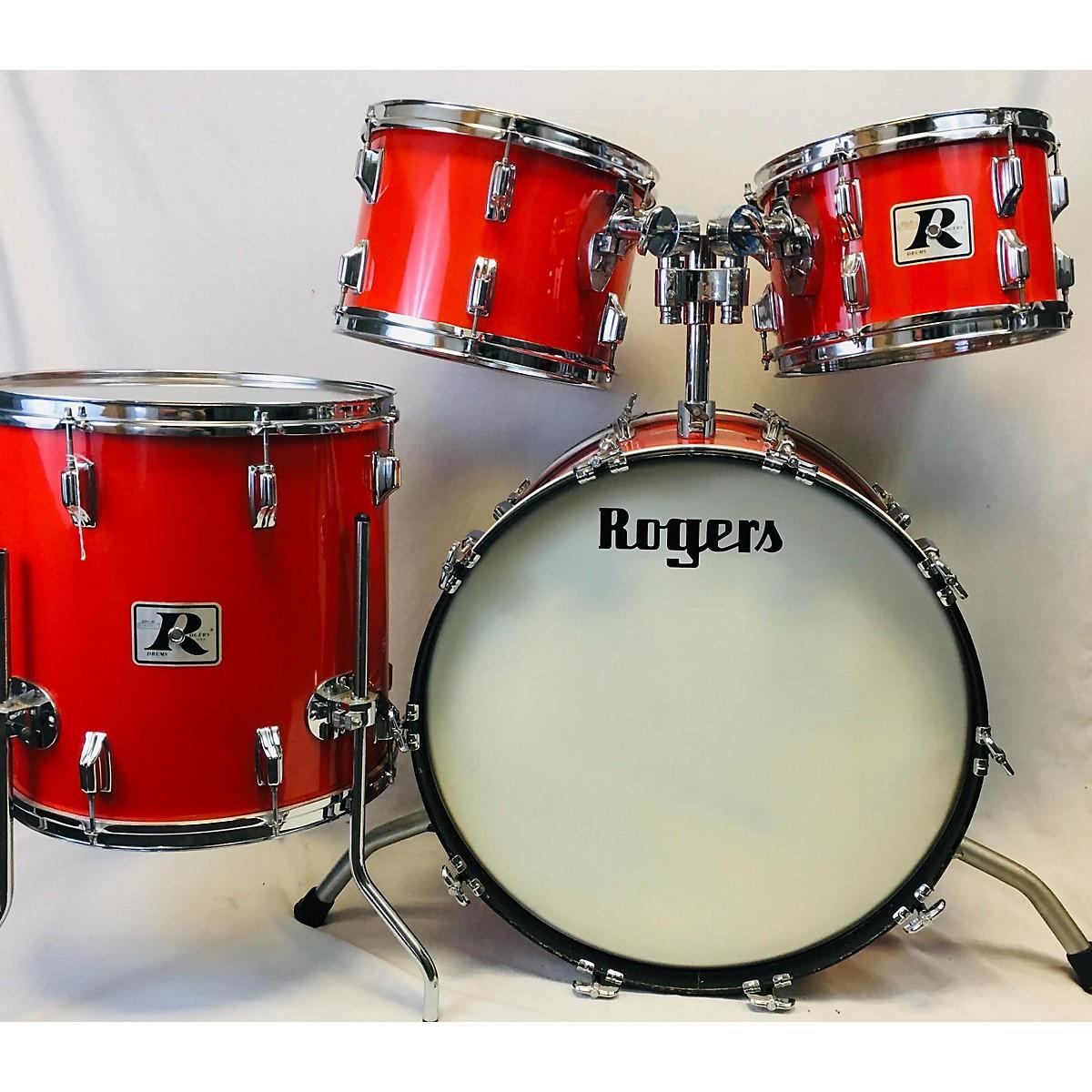 Rogers Fullerton Drum Kit