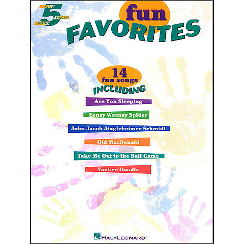 Hal Leonard Fun Favorites for Five Finger Piano