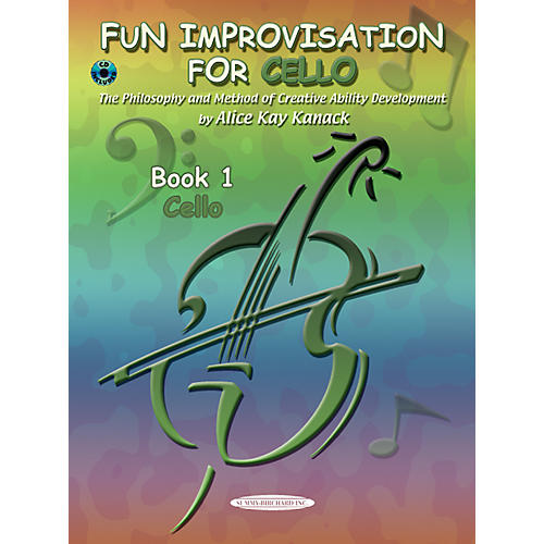 Alfred Fun Improvisation for ... Cello  Book/CD