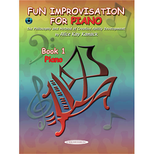 Alfred Fun Improvisation for ... Piano Book/CD