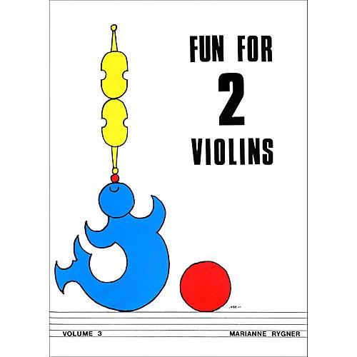 Alfred Fun for 2 Violins, Volume 3 Book
