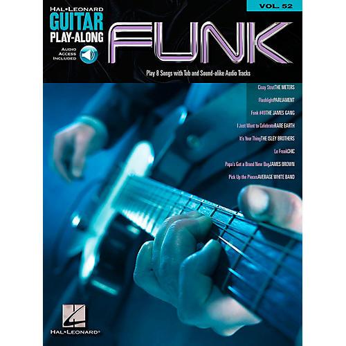 Hal Leonard Funk Guitar - Guitar Play-Along Series, Volume 52 (Book/CD)