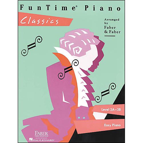 Faber Piano Adventures Funtime Piano Classics Level 3A-3B for Easy Piano - Faber Piano