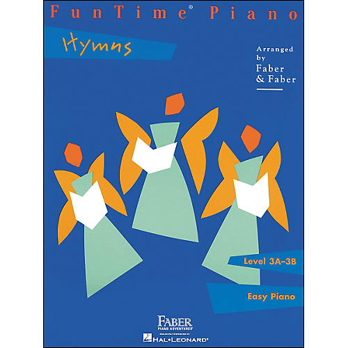 Faber Piano Adventures Funtime Piano Hymns Level 3A-3B Easy Piano - Faber Piano
