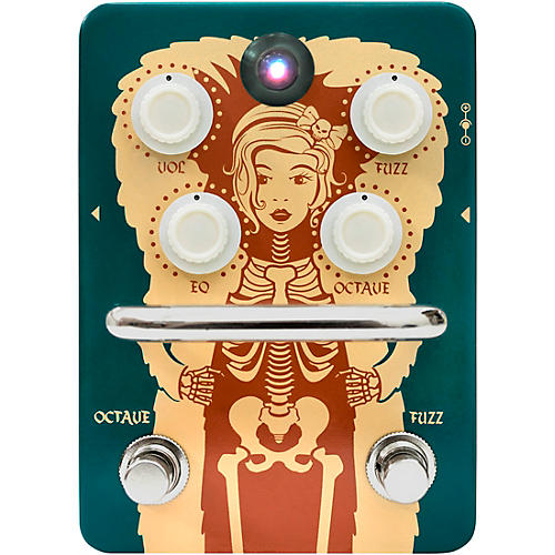 Orange Amplifiers Fur Coat Fuzz/Octave Effects Pedal
