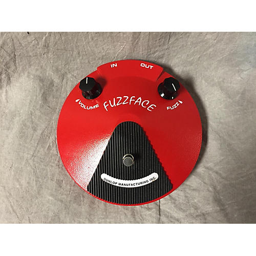 Dunlop Fuzz Face Candy Apple Red