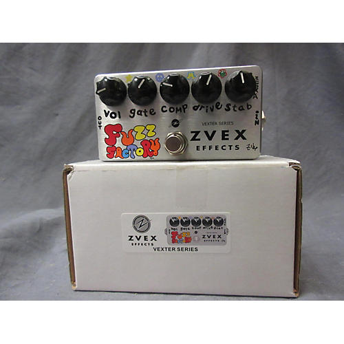 Zvex Fuzz Factory Effect Pedal
