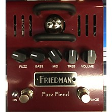 Friedman Fuzz Fiend Effect Pedal