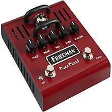 Friedman Fuzz Fiend Tube Fuzz Effects Pedal