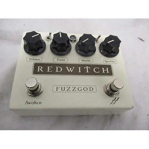 Red Witch Fuzz God Effect Pedal