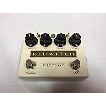 Red Witch Fuzz God II Effect Pedal