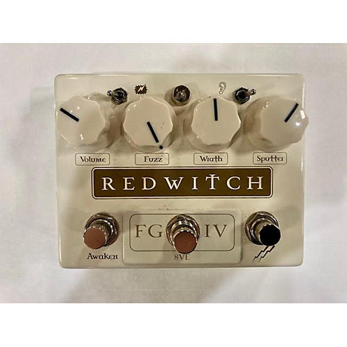Red Witch Fuzz God Iv Effect Pedal