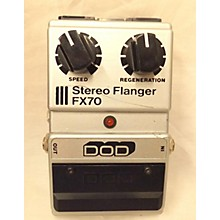 DOD Fx70 Stereo Flanger Effect Pedal