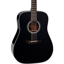 G Series Dreadnought Solid Top Acoustic Guitar Gloss Black