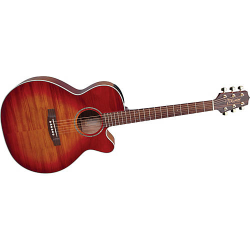Takamine G Series EG444C NEX Flame Maple Acoustic-Electric Guitar