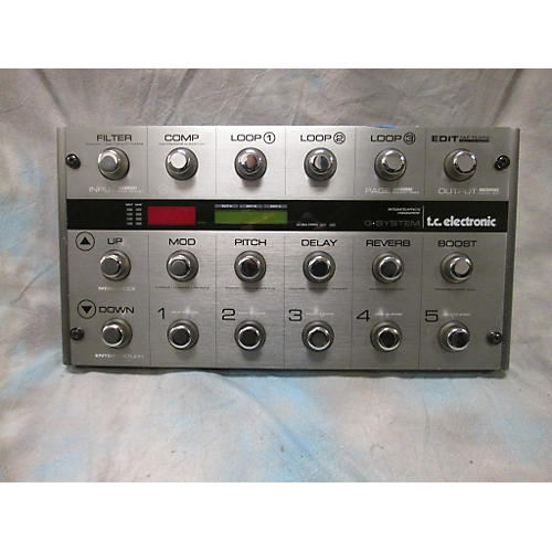 TC Electronic G System Effect Processor