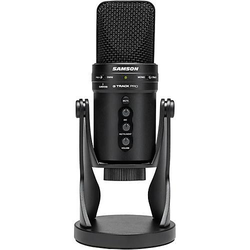 Samson G track Pro USB 24-bit Studio Condenser Mic with Audio Interface
