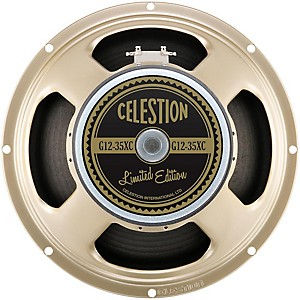 Celestion G12-35XC 90th Anniversary Limited Edition 12 inch 35 Watt 8ohm Replacemen... by Celestion