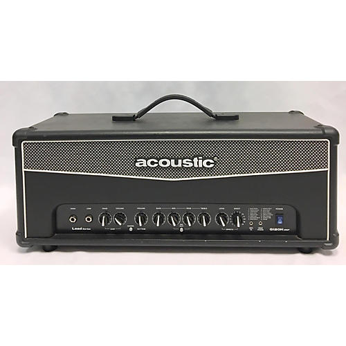 used acoustic g120h dsp 120w solid state guitar amp head guitar center. Black Bedroom Furniture Sets. Home Design Ideas