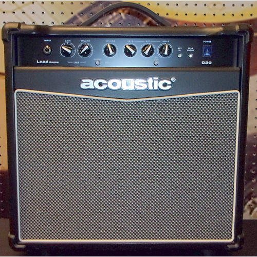 Acoustic G20 20W 1X10 Black Guitar Combo Amp