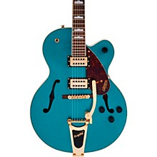 G2410TG Streamliner Hollow Body Single-Cut with Bigsby Ocean Turquoise