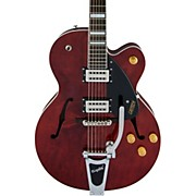 G2420T Streamliner Single Cutaway Hollowbody with Bigsby Walnut Stain