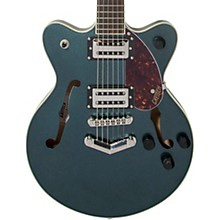 G2655 Streamliner Center Block Jr. with V-Stoptail Electric Guitar Gunmetal