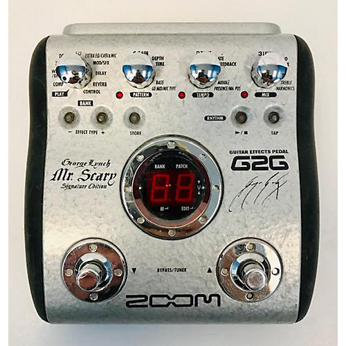 Zoom G2G George Lynch Mr. Scary Signature Edition Effect Processor