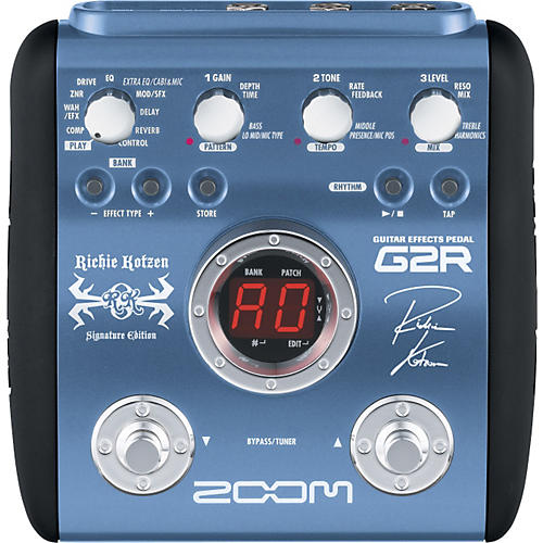 Zoom G2R - Richie Kotzen Signature Edition Multi-Effects Pedal